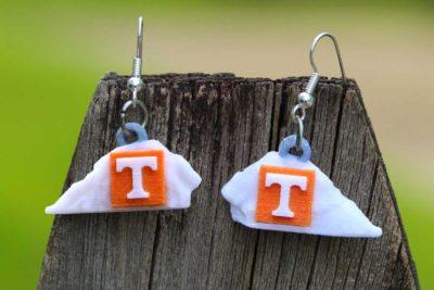 UT 3-D Sandstone Rock Ornament NCAA College Replicas University of Tennessee